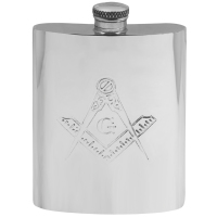 Hip Flask Masonic engraving gifts